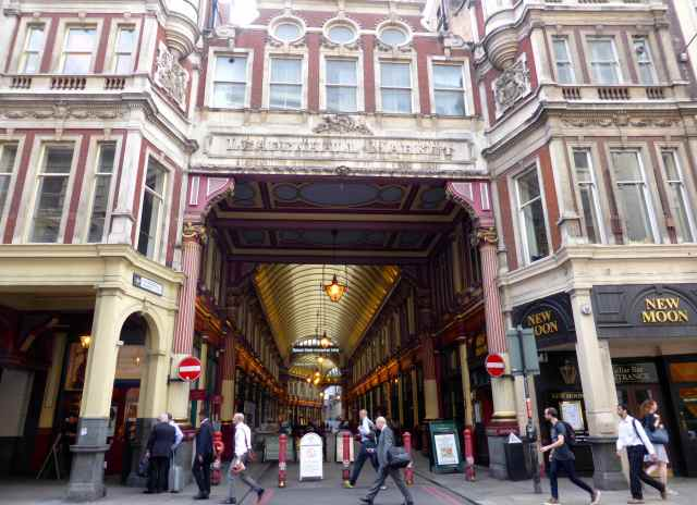 Leadenhall Market and New Moon
