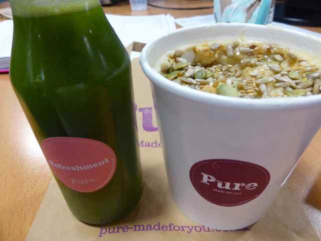 Pure Get Vit and porridge