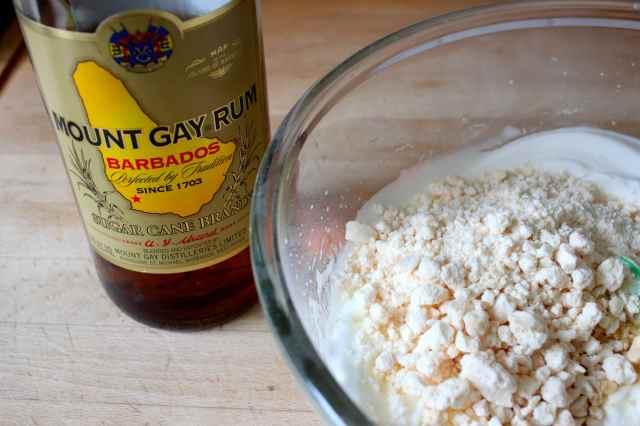 rum and meringue