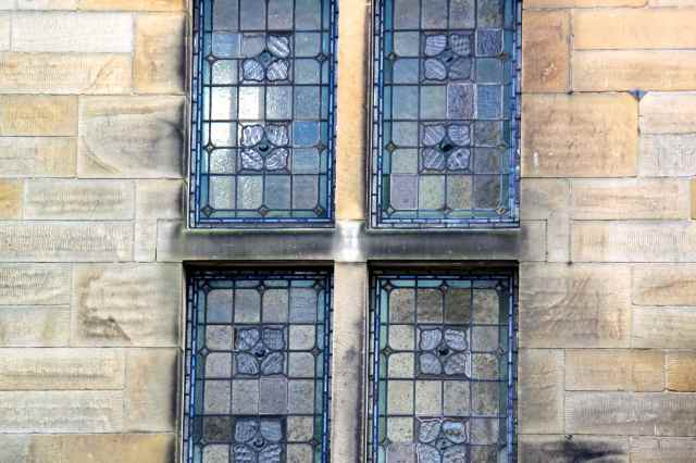 stained glass Hartington