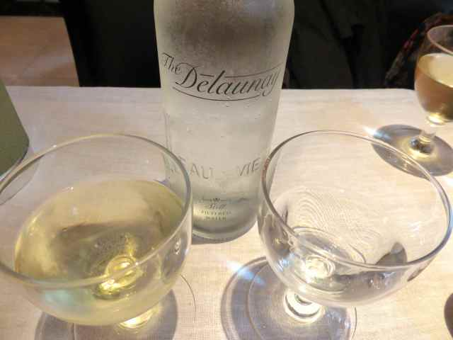 The Delaunay water