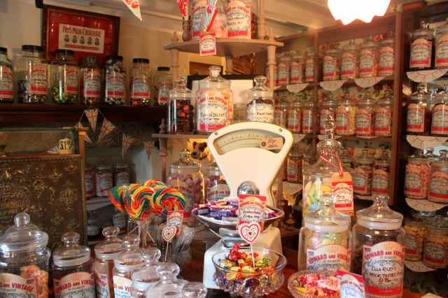 Tissington sweet shop