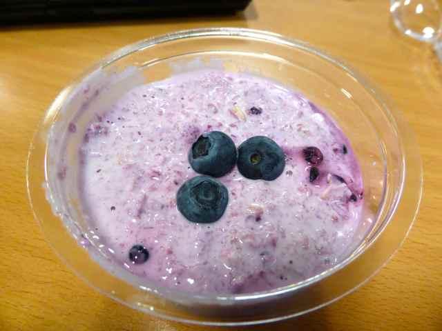 blueberry bircher
