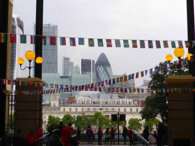 City from Hay's Galleria