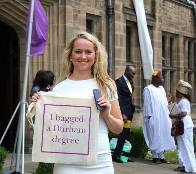 I bagged a Durham degree