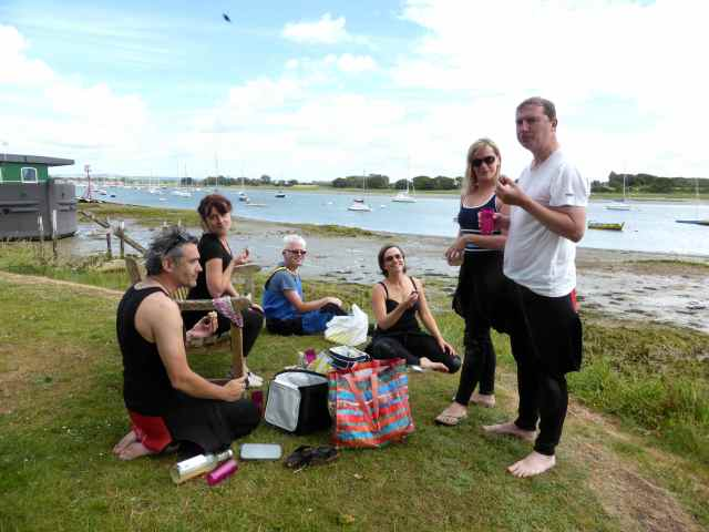 lunch time at Cobnor