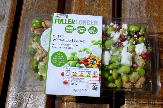 M&S Fuller Longer salad