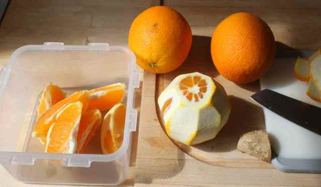 oranges and ginger