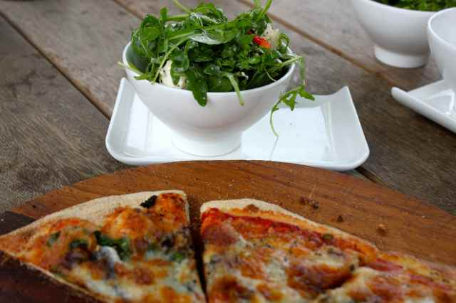 pizza and rocket
