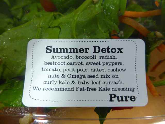 Pure Summer Detox Salad