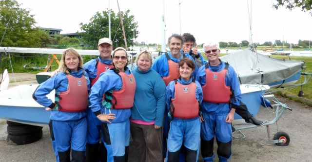 The sailing crew