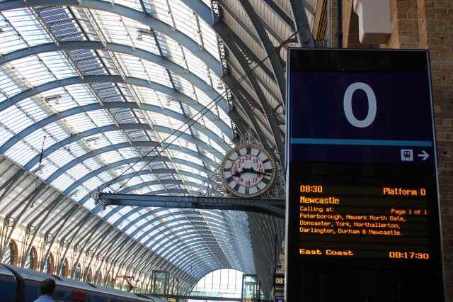 train to Newcastle