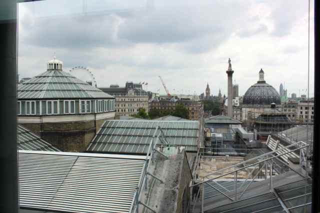 view from NPG roof 2