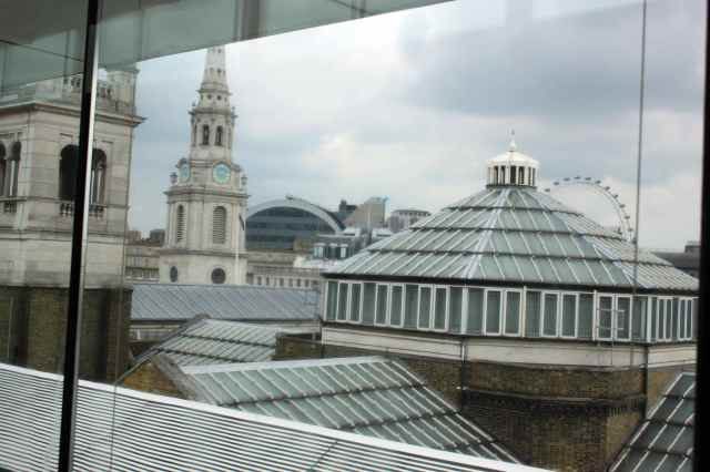 view from NPG roof