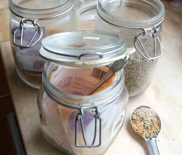 1 tbsp mixed seeds