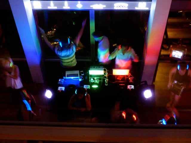 3 DJs in The Shard