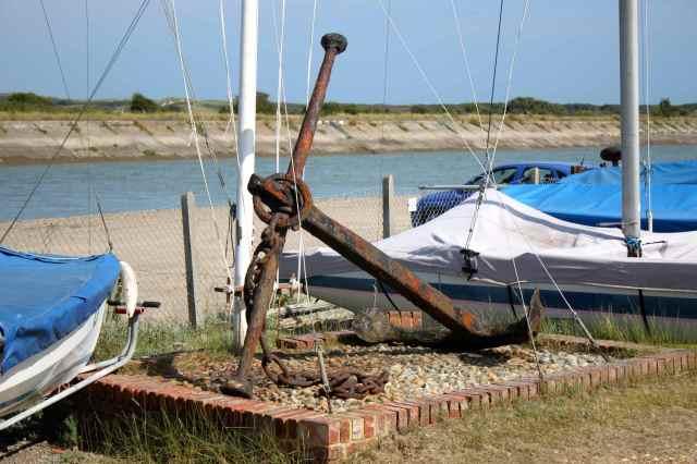 anchor at Rye