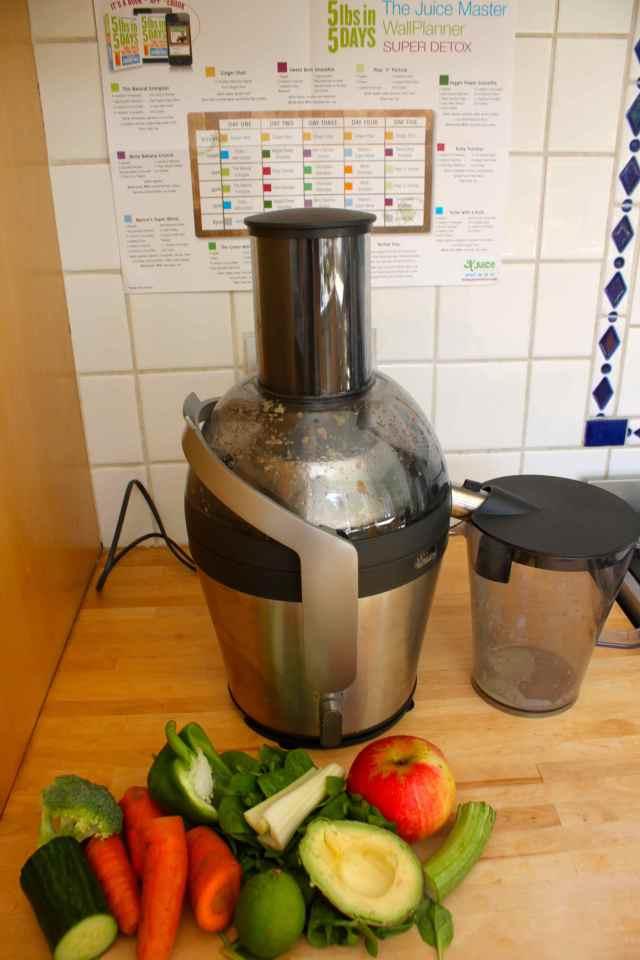 Blender and ingredients