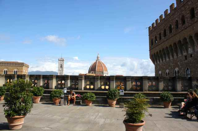 cafe at Uffizi