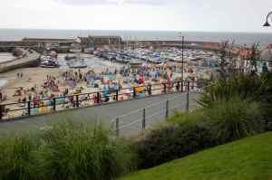 crowds at Lyme