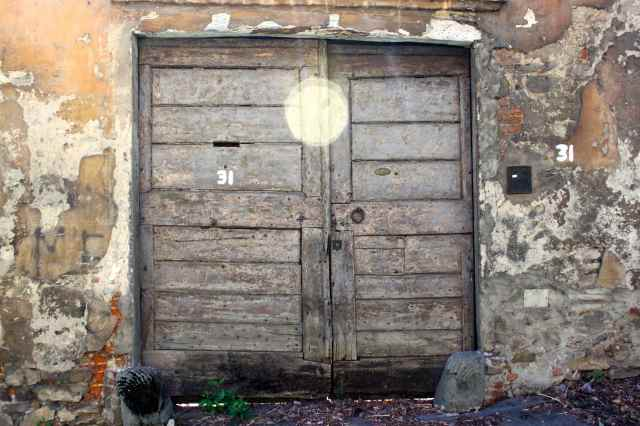 door on Belvedere