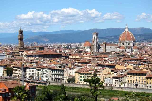 Duomo and Palazzo Vecchio