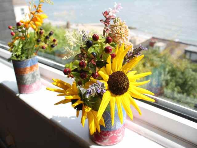 Ed's flower vases