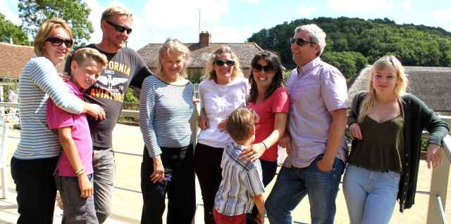 family at Symondsbury