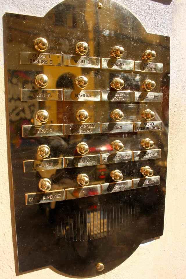 Firenze doorbells 4