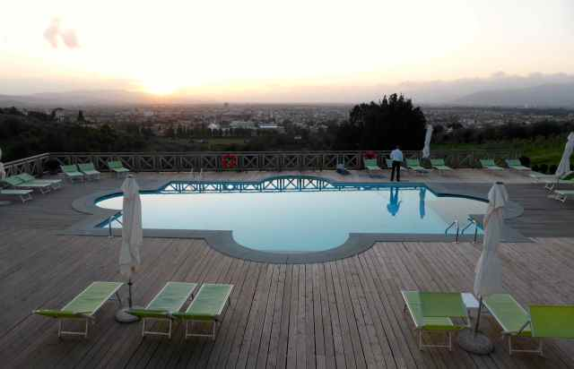 Firenze hotel pool