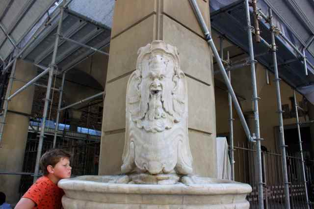 fountain in Florence street