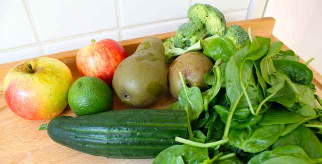Green Refresher Ingredients