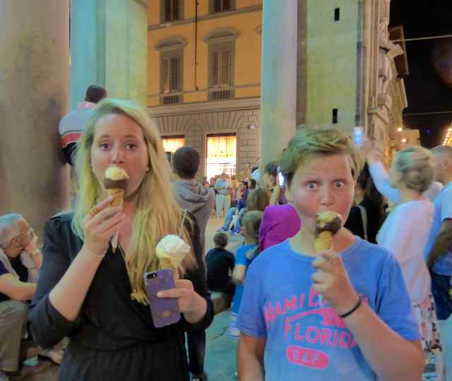 ice creams and opera