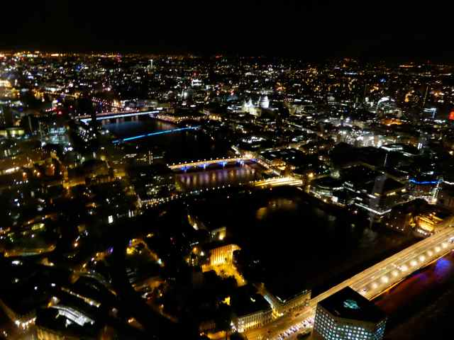 London Bridge and St Paul's from The Shard