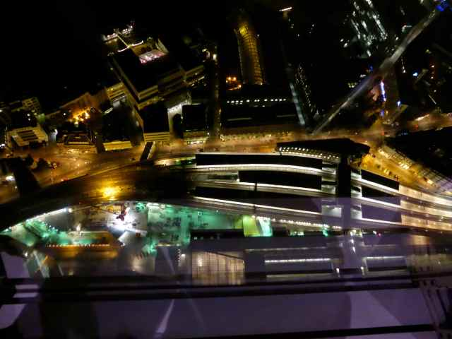 looking down to London Bridge