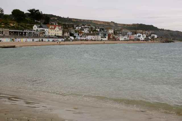 Lyme Regis frim beach