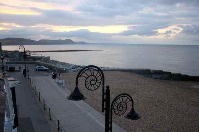 Lyme Regis sunrise 14-8