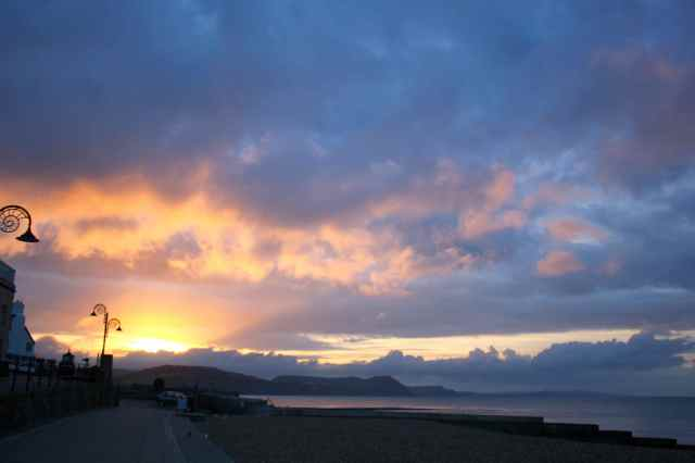 Lyme Regis sunrise