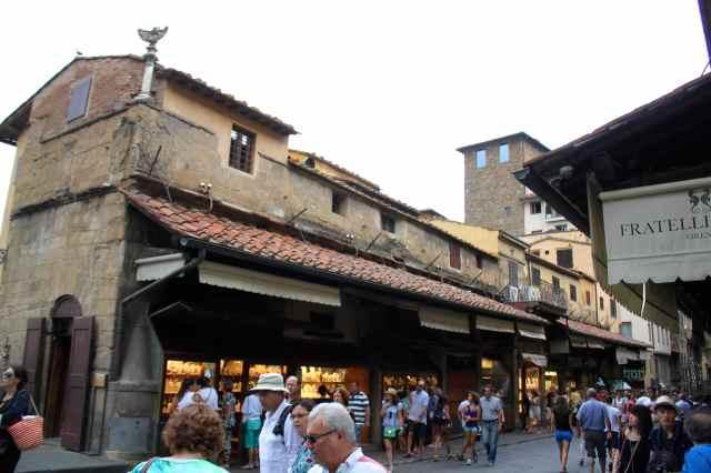 on Ponte Vecchio