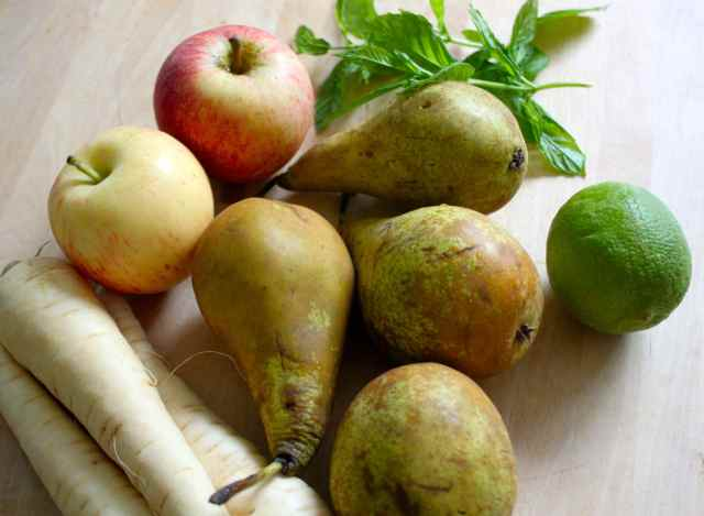 pears and parsnips