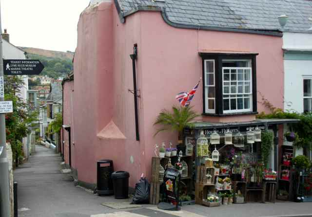 pink house Lyme