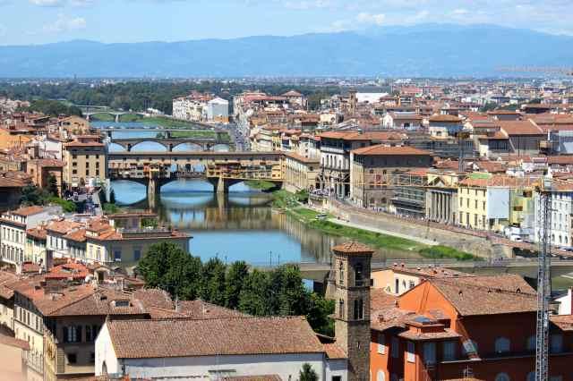 Ponte Vecchio from PM