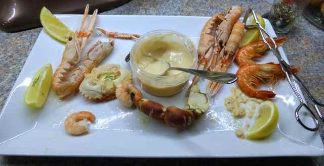 Sally's seafood