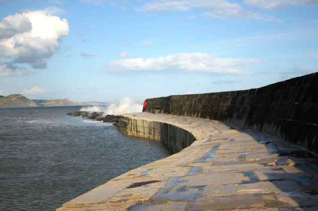 The Cobb at Lyme