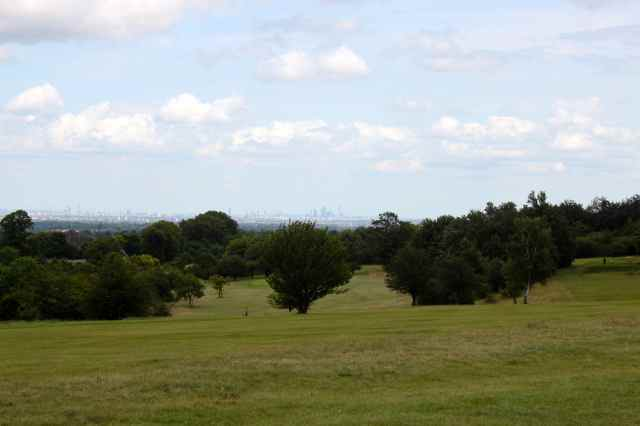 The Shard from Epsom Downs