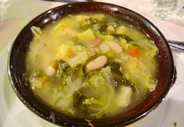 Tuscan vegetable soup 1