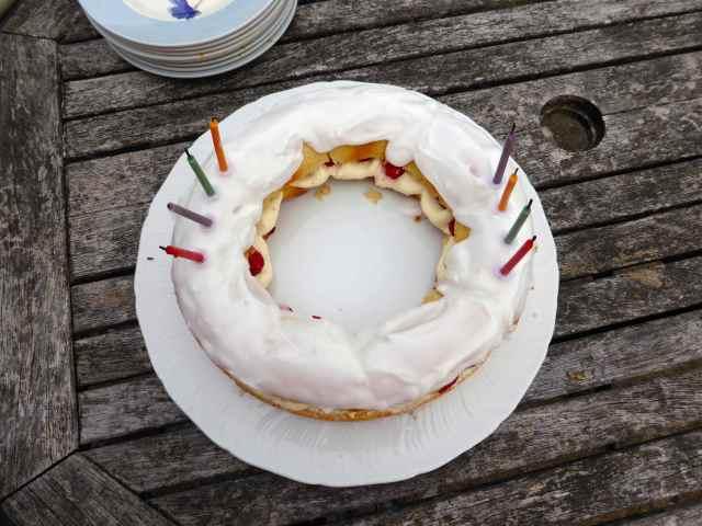 Aunty M's birthday cake