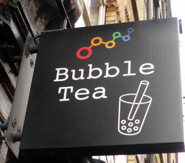 Bubble Tea sign