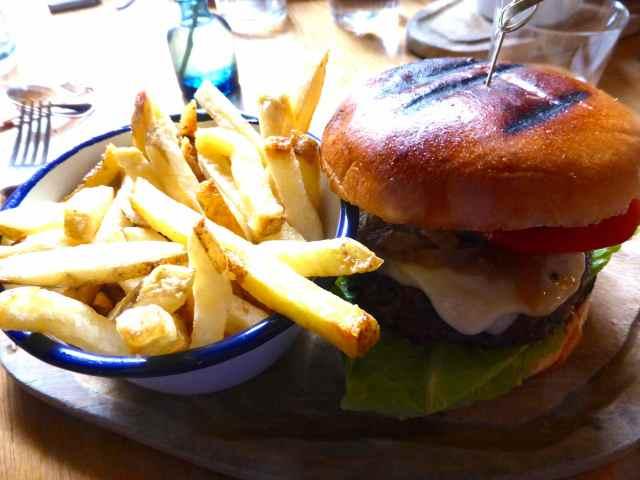 cheeseburger at george