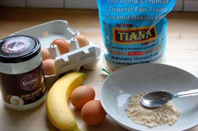 coconut pancake ingredients